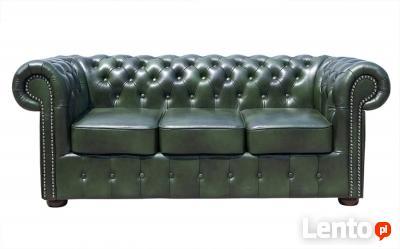 Sofa Chesterfield Classic- skórzana