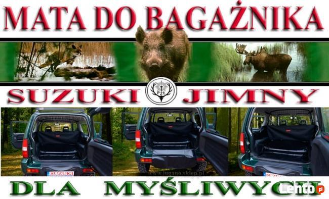 Mata samochodowa do bagażnika DLA MYŚLIWYCH-SUZUKI JIMNY