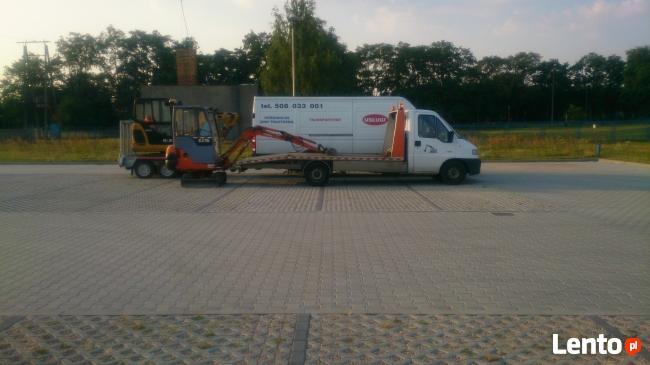 Usługi MiniKoparką Zielona Góra - Czerwieńsk