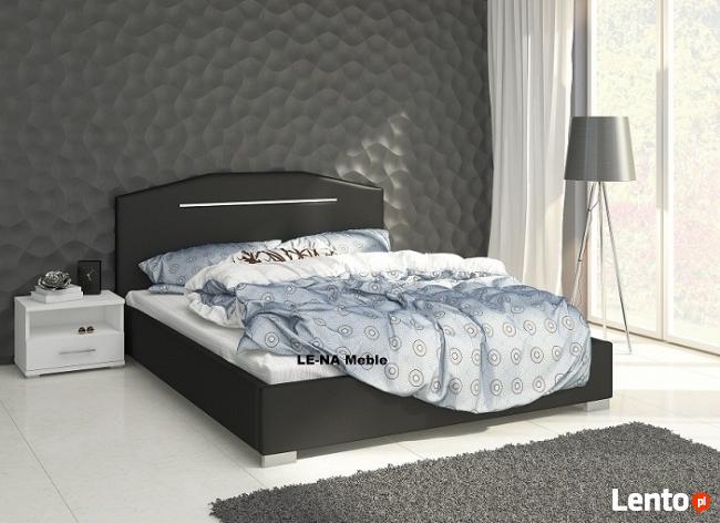 Łóżko VEGAS czarne 140/200