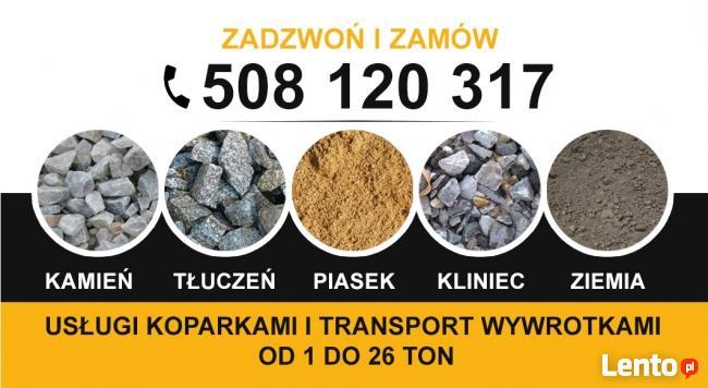 Kliniec Tłuczeń Kamień Piasek Żwir Kora 508 120 317 RZESZÓW