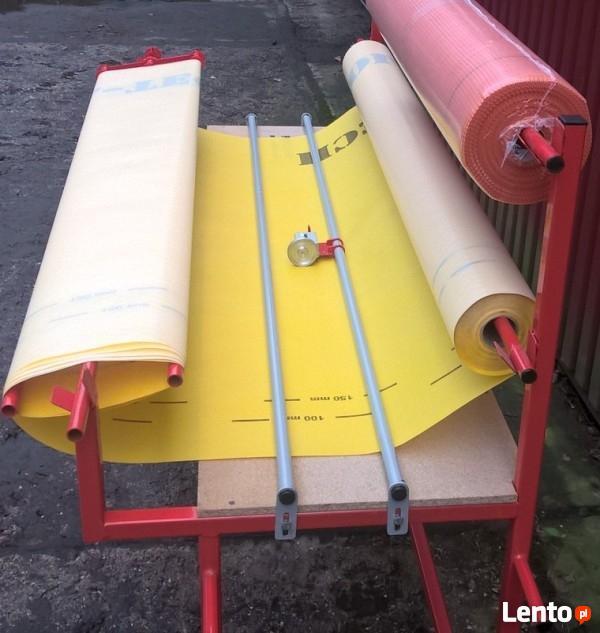 Stojak na folie - przewijarka do materiałów