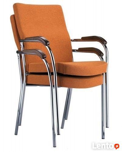 Loco II chrome Nowy Styl - krzesło konferencyjne.