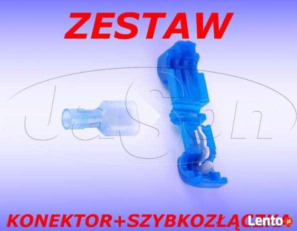 ZESTAW Szybkozłączka+Konektor Typ T 1,5-2,5mm SGE