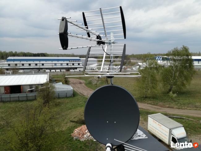 Ustawianie Serwis Montaż Anten Satelitarnych Wawer Rembertów