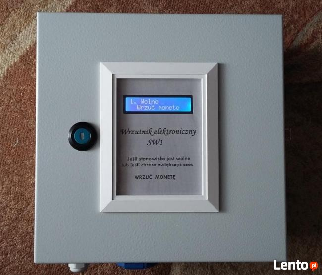 Czasowy automat wrzutowy, wrzutnik do monet, wrzutomat