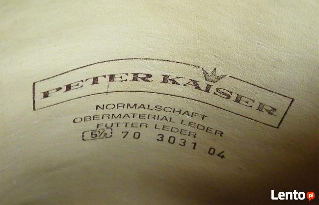 Kozaki skórzane PETER KAISER