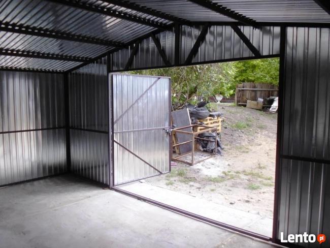 Garaże blaszane Garaż blaszany Blaszak 5x7 WDUSPAD OCYNK