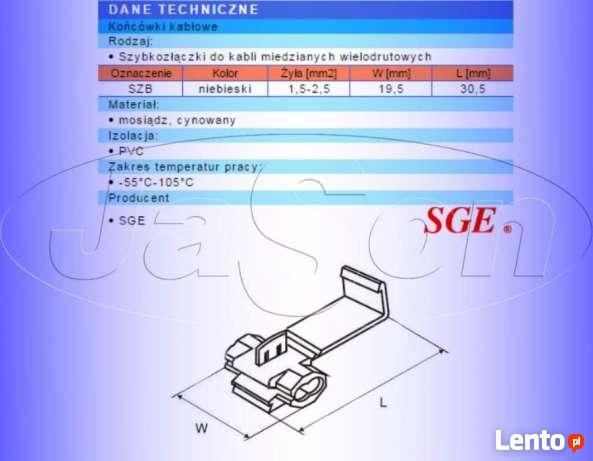 SZYBKOZŁĄCZKA elektryczna SGE 1,5-2,5mm2 - 5szt