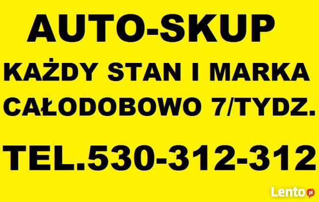 AUTO-ZŁOM TEL.530-312-312 ZŁOMOWANIE KASACJA 24/H