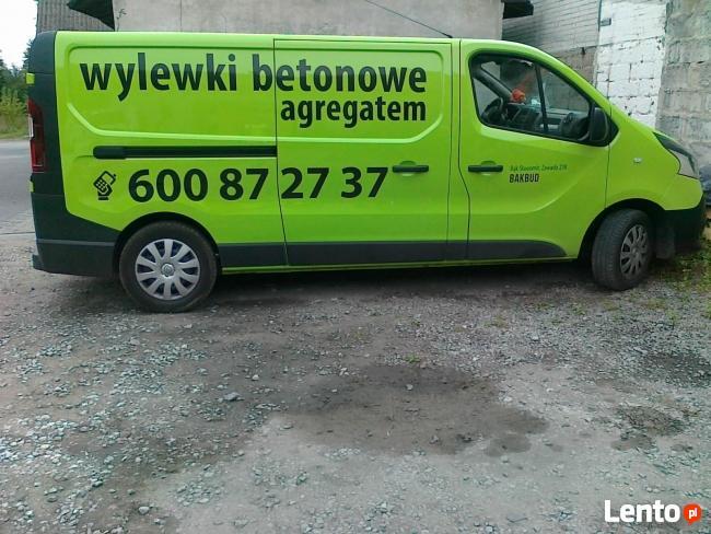 Wylewki betonowe Tomaszów Maz.