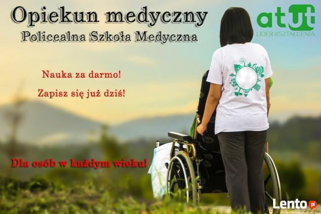 Opiekun medyczny-zawód z przyszłością w Polsce i UE! ATUT!