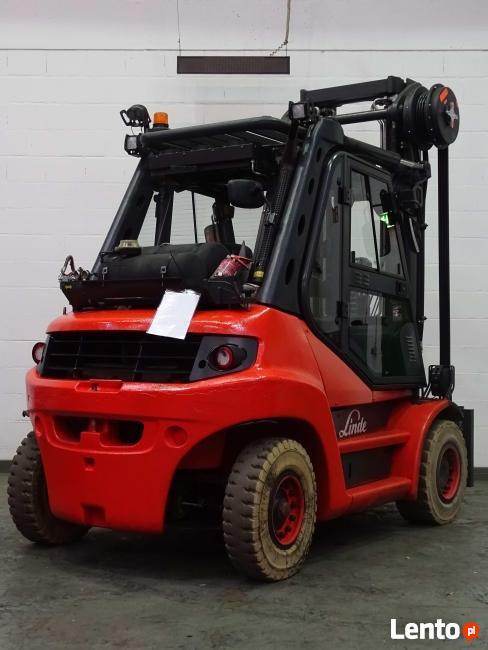 Wózek widłowy Linde H80T-02 / 6 M / Wynajmem / Sprzedaż