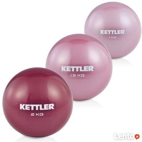 PIŁKA do ćwiczeń Kettler Toning Ball 2kg pilates fitnes