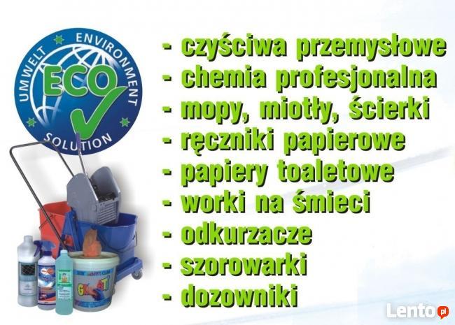 Profesjonalna chemia i sprzęt do utrzymania czystości