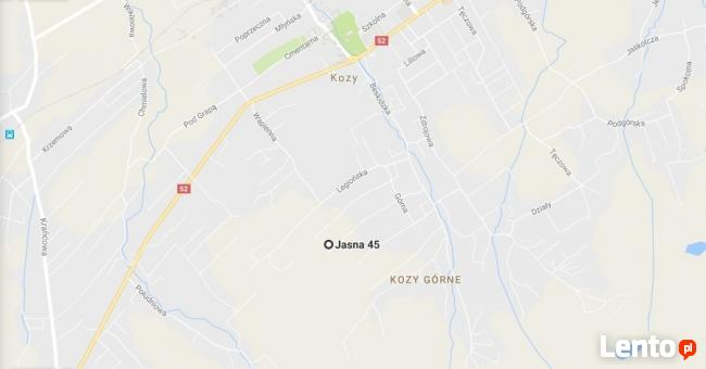 Sprzedam działkę w Kozach powiat bielski ul. Jansa. 3372m2
