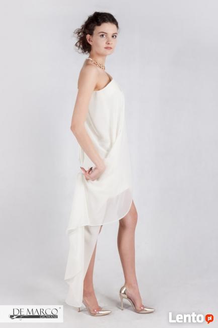 Piękna, zwiewna sukienka dla Pani młodej na wesele De Marco