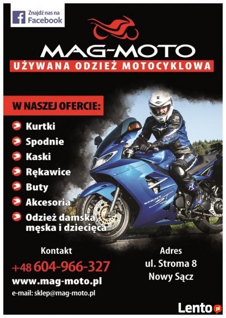 Używana odzież motocyklowa