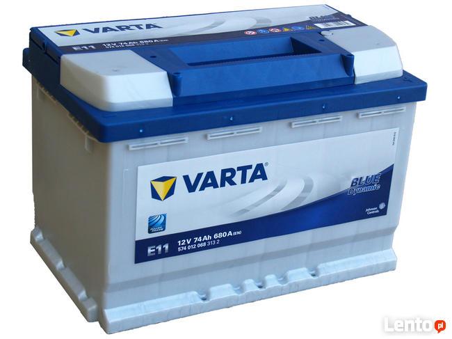 Akumulator VARTA BLUE E11 74Ah/680A Łomża
