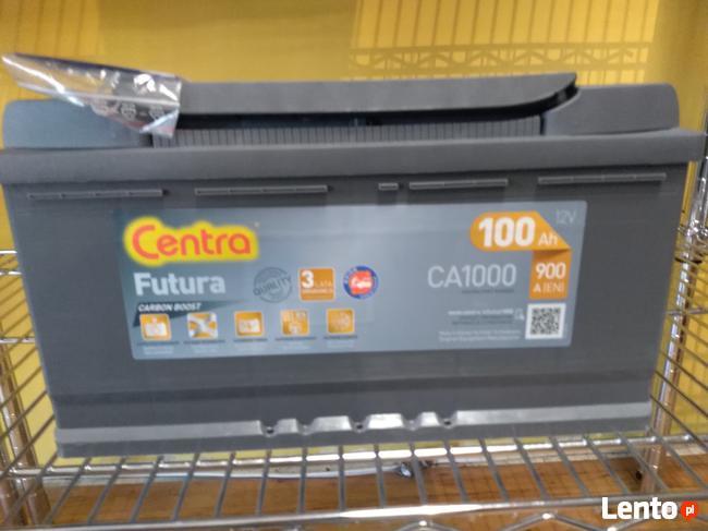 Akumulator CENTRA FUTURA 12V 100Ah/900A Łomża