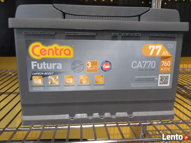 Akumulator CENTRA FUTURA 12V 77Ah/760A Łomża