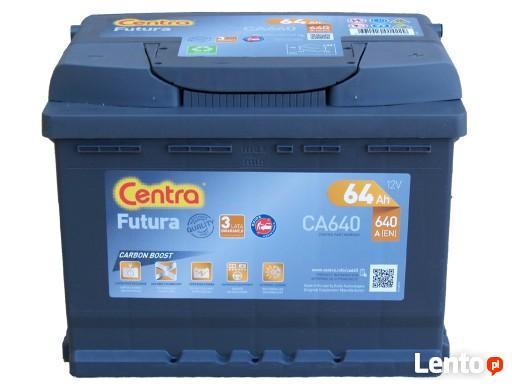 Akumulator CENTRA FUTURA 12V 64Ah/640A ŁOMŻA