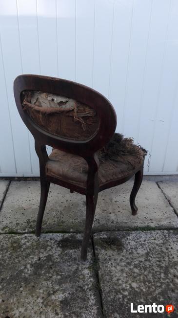 Oryginalne damskie krzesło Ludwik Filip XIX wiek !!! Okazja