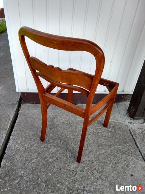 Krzesło antyczne dębowe po renowacji !