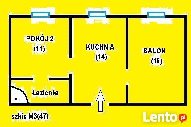 Zamienimy m3(47) z c.o. na M2 lub M3 w Blokach komunalnych
