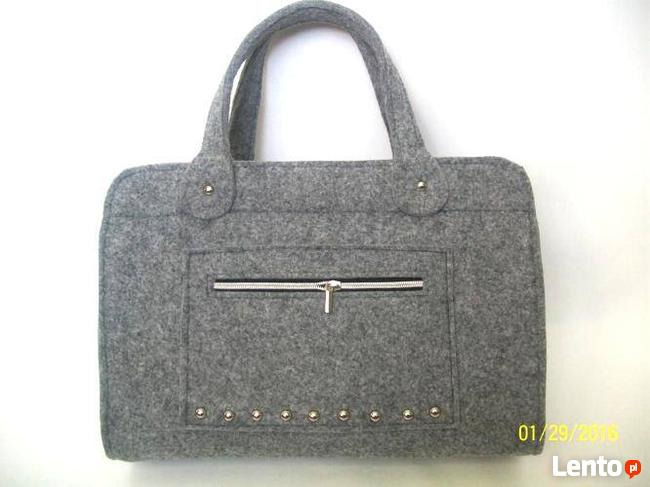 torebka torba  z  filcu  filcowa