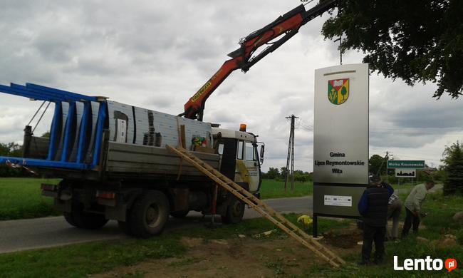 Transport Ciężarowy HDS, Wywrotka, Piach, Ziemia, Beton, Kam