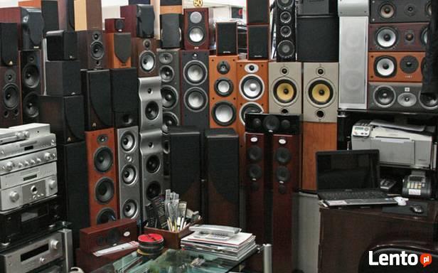 Skup głośników nagłośnienia elektroniki kolumn oraz RTV AGD