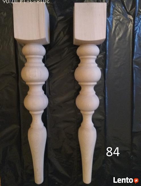 Noga Drewniana Nogi Toczone Do Mebli Nóżki Wiele Wzorów Lubań