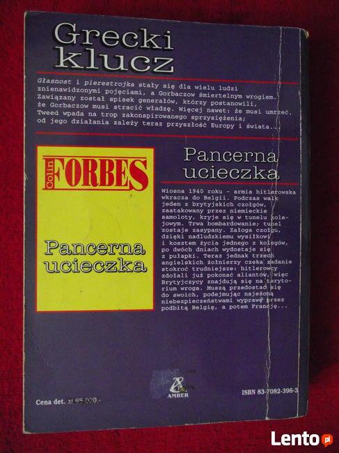 Colin Forbes - Grecki klucz