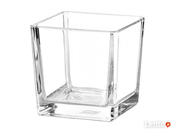 Szkło Dekoracyjne świeczniki Szklane Kule Kwadrat Wazon Kłodzko