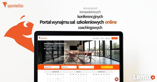Spotello - sale szkoleniowe konferencyjne Poznań