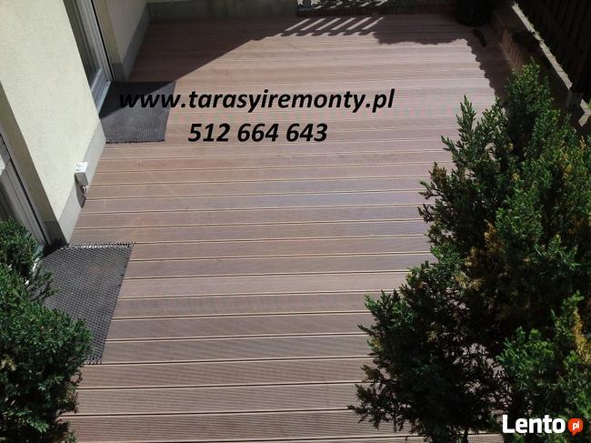 Deski Tarasowe Kompozytowe Wpc Tarasy Balkony Schody Montaz