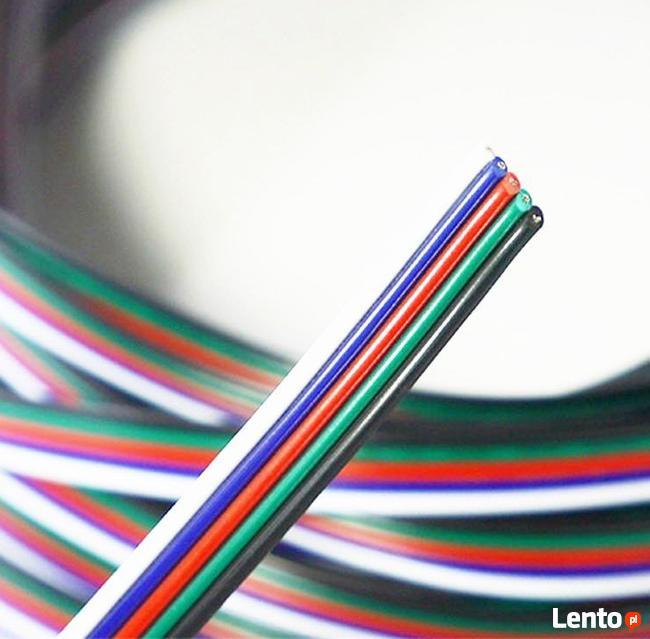 Przewód kabel pięciożyłowy do taśm LED RGBW 1mb