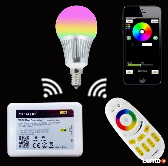 PROMOCJA Router Milight IBOX WIFI Lampka