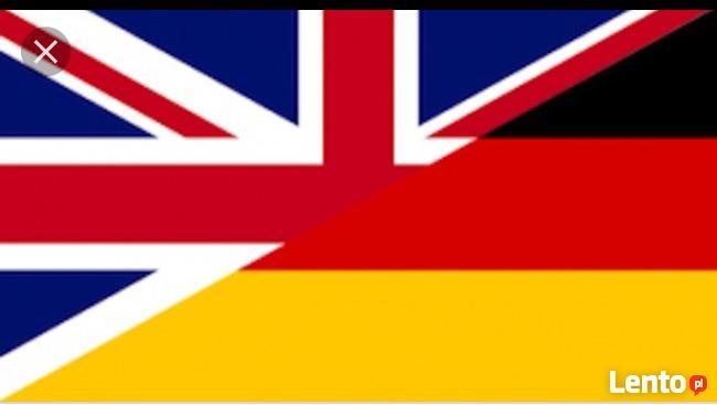 Konwersacje/korepetycje angielski niemiecki/native speaker