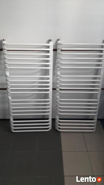 sprzedam 2 grzejniki łazienkowe, białe, nowe 56x120 cm