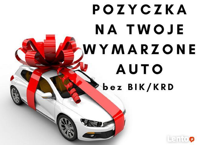 Pożyczka na zakup auta bez BIK i KRD