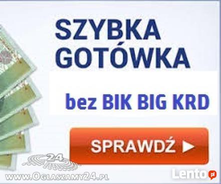 Pożyczki bez Bik-u,do 25000zł.