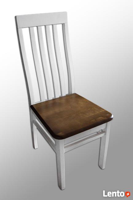 Stół 120/90 lub 80 roz. na 180 cm z drewna! i 6 Krzeseł