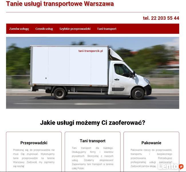 Tanie przeprowadzki, tani transport Warszawa - Gdańsk