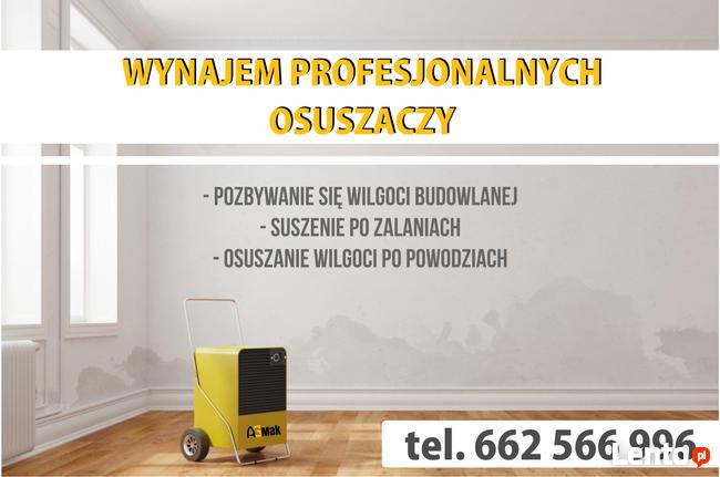 Osuszanie budynków z wilgoci AGMAK Lublin