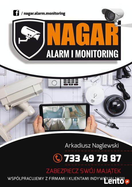 Montaż instalacja monitoring CCTV kamer alarm wideo/domofony