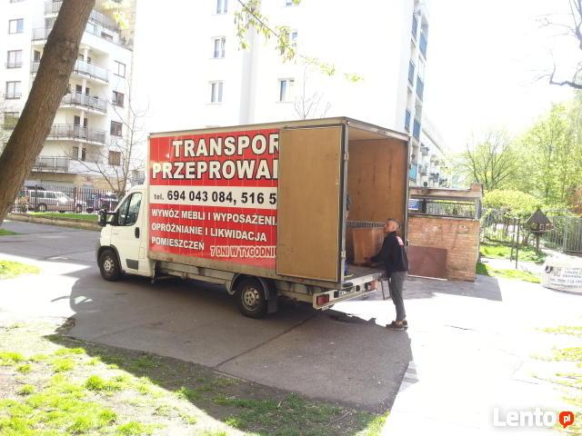 PRZEPROWADZKI TRANSPORT tragarze bagażówka 24h/365 fairplay