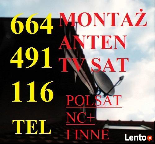 MONTAŻ ANTEN TARNÓW tel.664491116 BRZESKO BOCHNIA TUCHÓW