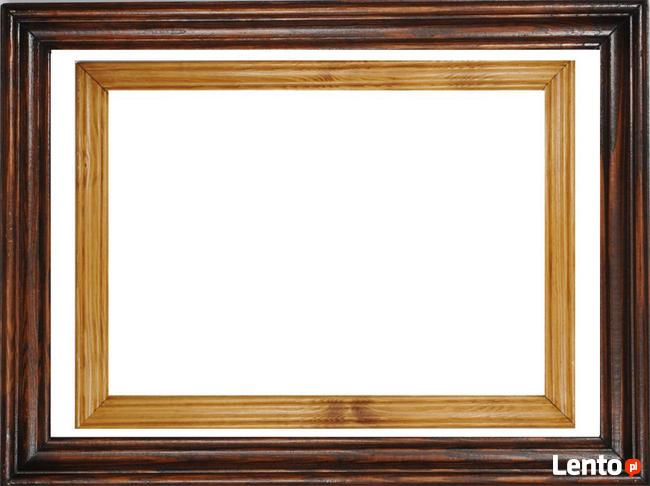 RAMA DREWNIANA na obraz zdjęcie foto 27x35cm A4